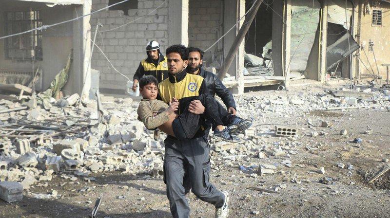 Syrie: des civils évacués de la Ghouta orientale