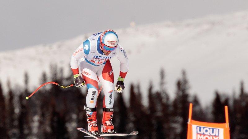 Ski alpin: Mauro Caviezel 7e et meilleur Suisse lors du Super-G d'Are remporté par l'Autrichien Kriechmayr