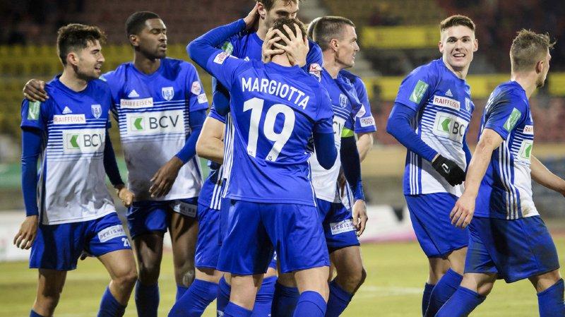 Football: le Lausanne-Sport a arraché le nul face à Bâle