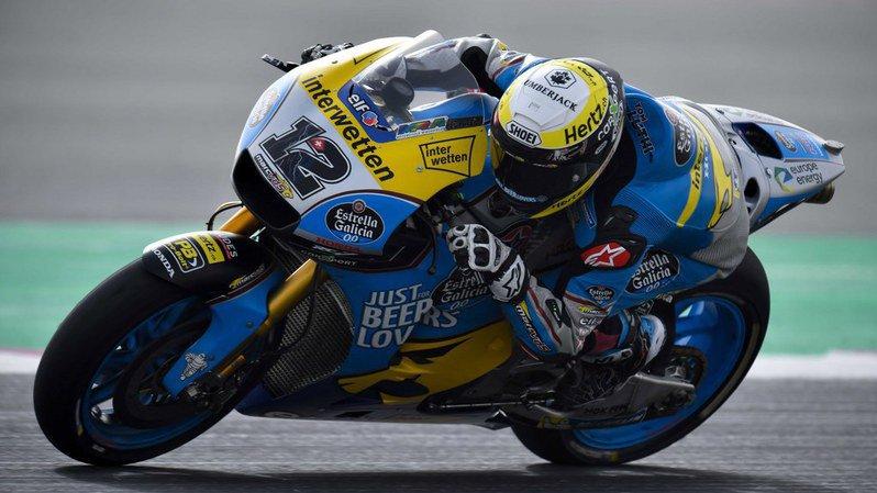 Motocyclisme: Tom Lüthi en sixième ligne pour son premier Grand Prix de MotoGP au Qatar