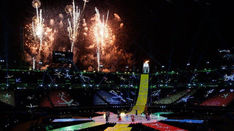 La cérémonie de clôture s'est déroulée ce dimanche à PyeongChang.
