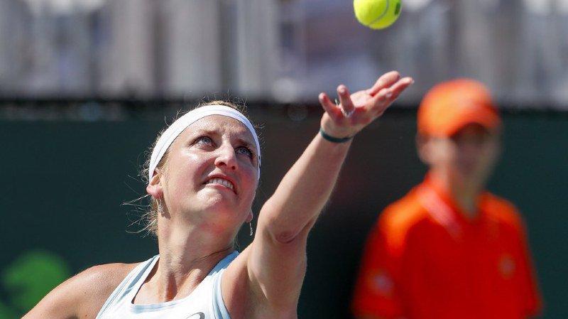 Tennis - Tournoi de Miami: Timea Bacsinszky chute d'entrée
