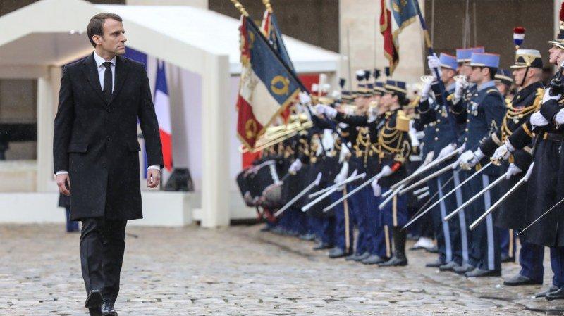 Le président Emmanuel Macron a rendu un hommage national à l'officier Beltrame.