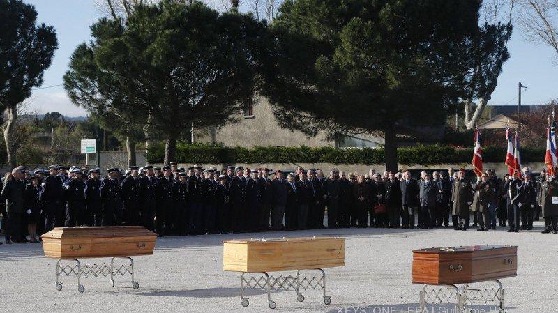 Les obsèques du jeune boucher et des deux retraités ont eu lieu ce jeudi, à Trèbes.