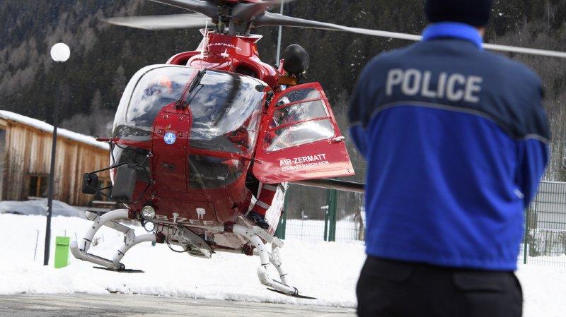 Zermatt: un homme retrouvé mort deux semaines après avoir été emporté par une avalanche