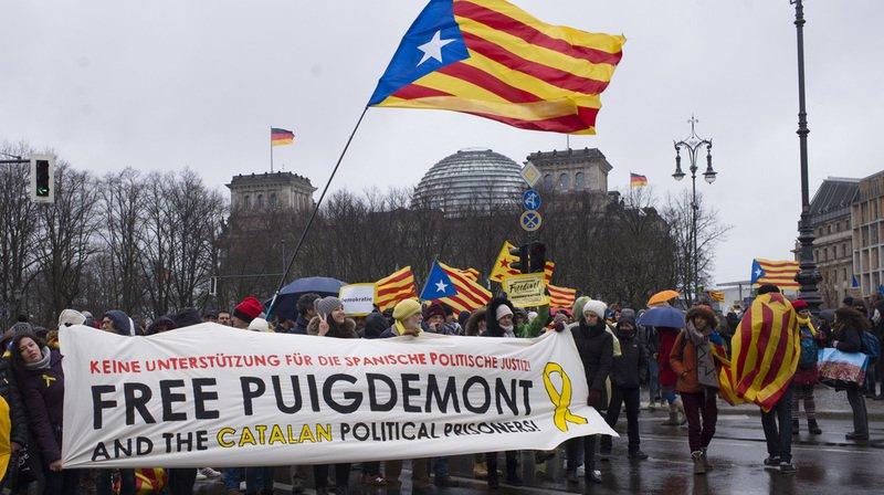 Espagne: l'ex-président catalan Puigdemont présente un recours contre son inculpation pour rébellion