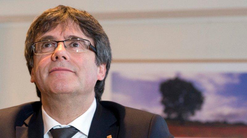 L'ancien leader catalan Carles Puigdemont est sorti de prison