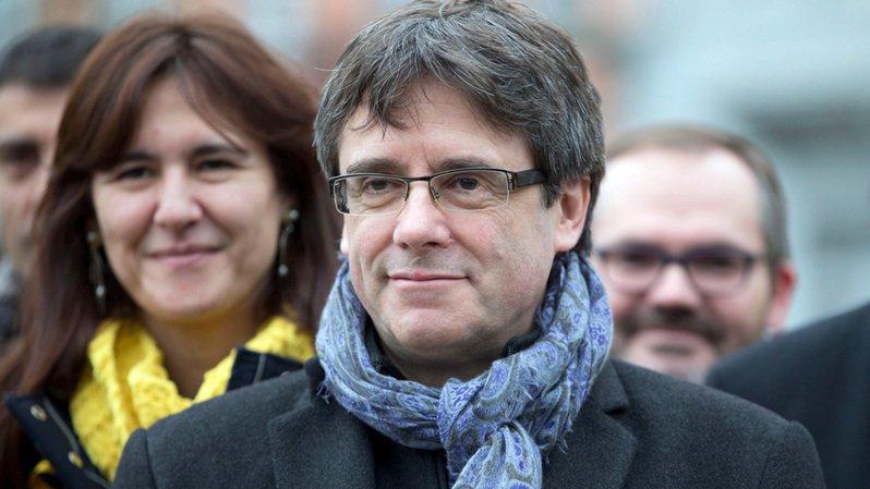 L'indépendantiste catalan Carles Puigdemont s'apprête à sortir vendredi de prison.