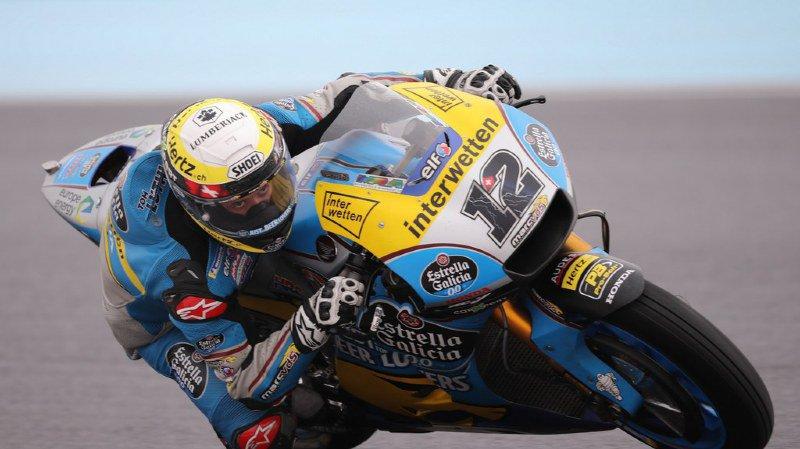 Motocyclisme: Lüthi termine 17e au Grand Prix d'Argentine, victoire de Crutchlow