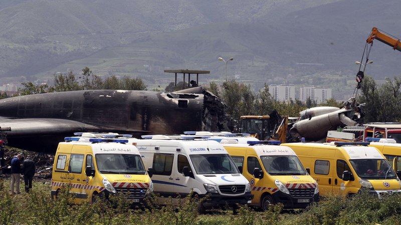 Algérie: un accident d'avion fait 257 morts près d'Alger