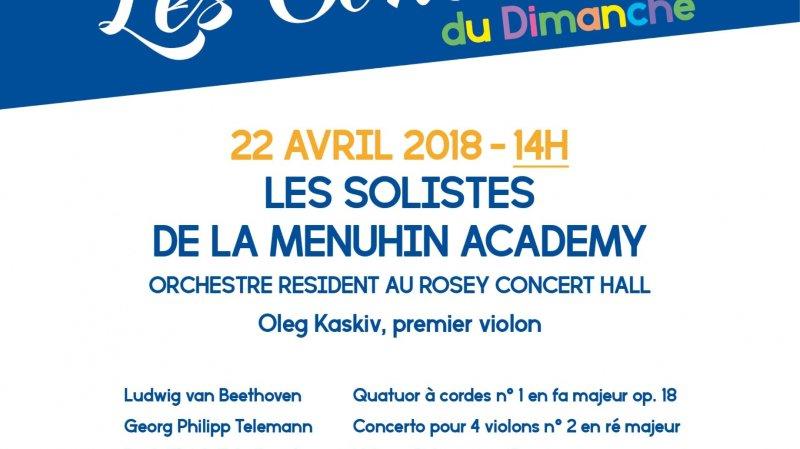 Menuhin Academy - Rosey Concert Hall