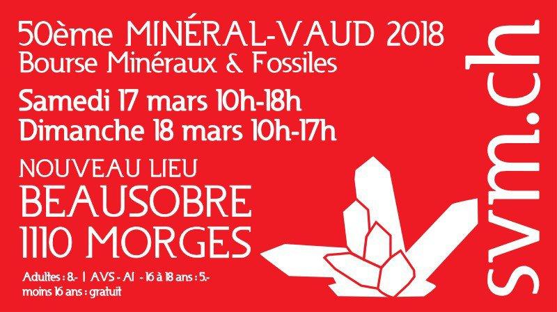 Minéral-Vaud, bourse de minéraux et fossiles