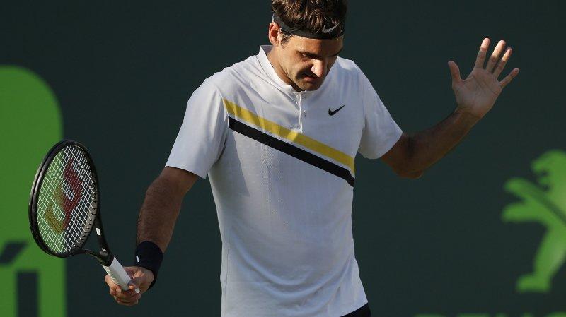 Federer renonce à la saison sur terre battue