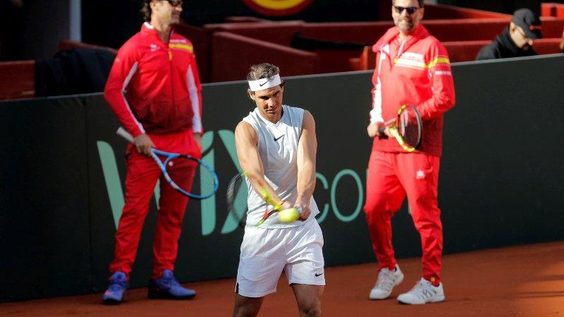 Coupe Davis - Espagne : absent depuis janvier, Nadal titulaire en simple