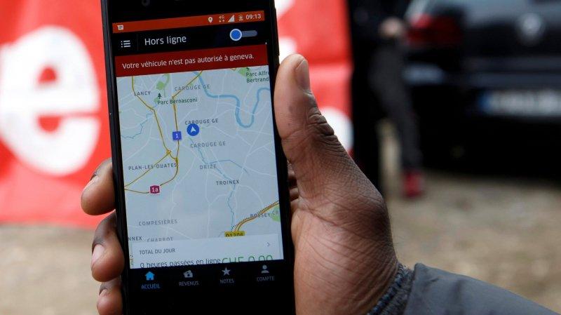 Uber devient central d'appel, à Lausanne.