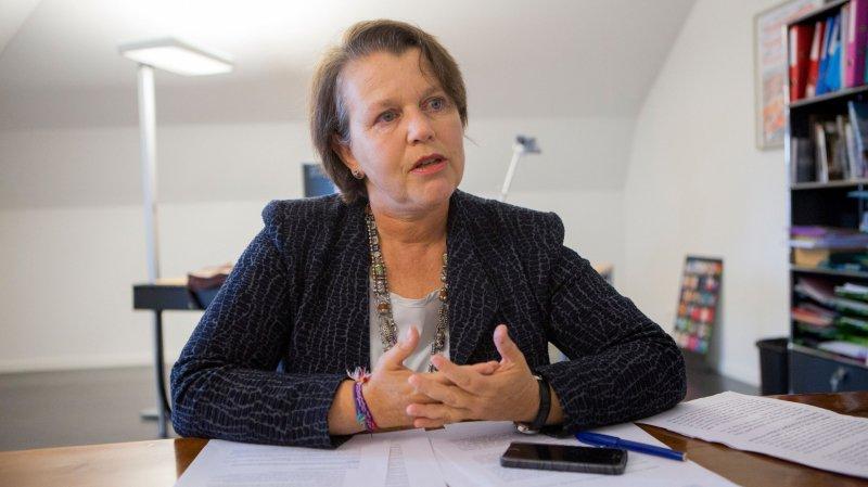 """Fabienne Freymond Cantone, administratrice de la BCV: """"On est venu me chercher!"""""""