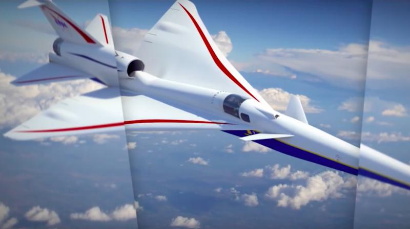 Aéronautique: la NASA veut passer le mur du son sans faire de bruit