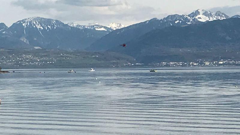 Hier, un hélicoptère a été dépêché sur place pour accélérer les recherches.