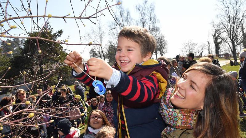 Charles 4 ans a dit adieu à sa lolette avec le soutien de sa maman Isaline Ackermann.