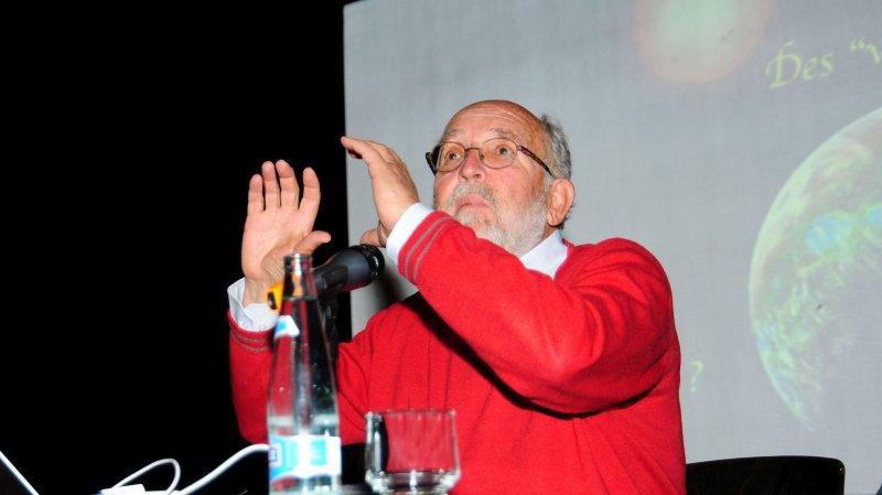 L'astrophysicien Michel Mayor est un conférencier très demandé