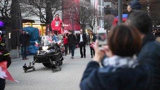 Jeux paralympiques: Ramon Zenhäusern le héros de Bürchen (VS)