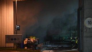 Vaud: un incendie et des explosions à Ecléplens
