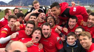Rugby: le XV de Suisse assure son maintien