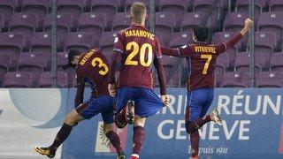 Football: Servette lâche deux points en faisant match nul (1-1) contre Winterthour
