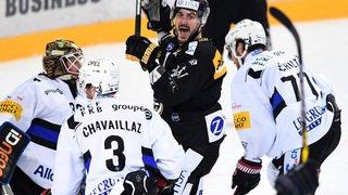 Hockey: Fribourg et Genève Servette sont déjà en vacances, Bienne mène 3-2 dans sa série face à Davos