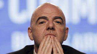 Football: Gianni Infantino, président de la FIFA, est pour une généralisation de l'arbitrage vidéo