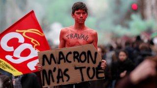 La fonction publique française est descendue dans la rue