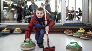 Morges: les images des portes ouvertes du club de curling