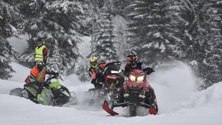 Le snowcross de Saint-Cergue en images