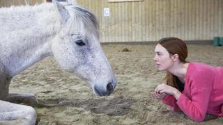 Gimel: duo inédit entre une comédienne et un cheval