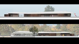 Perroy: le projet du futur restaurant de la plage se dévoile