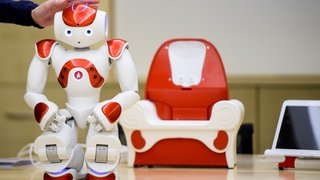 Un robot  au service des enfants autistes à Lausanne