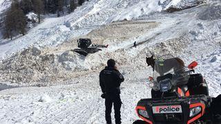 Avalanche au vallon d'Arbi (VS): les recherches sont interrompues, le corps d'un Vaudois de 57 ans toujours enseveli