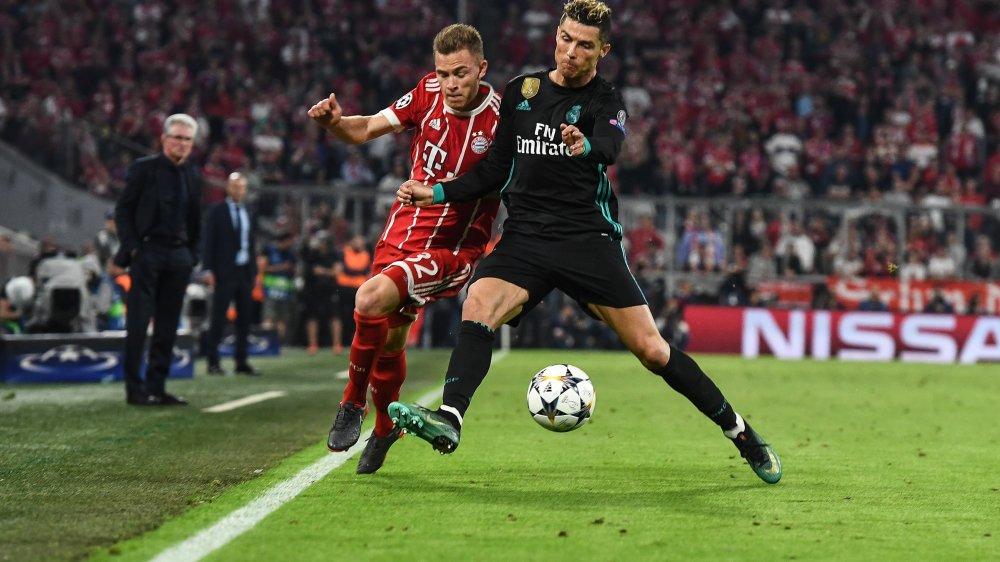 Vainqueurs à Munich, Cristiano Ronaldo (dr.) et les Madrilènes tiennent la corde avant le match retour.