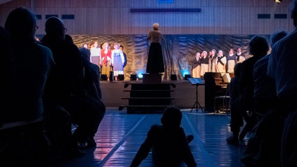 Le Giron des chanteurs de l'Aubonne réunit chaque année de nombreux chœurs.