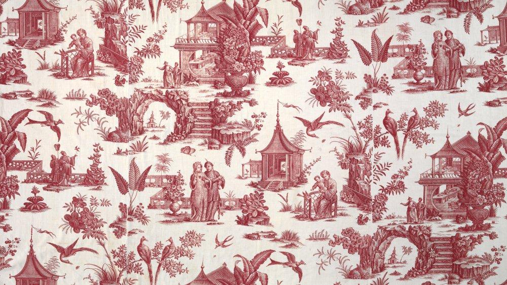 Fleurs exotiques, scènes de la vie quotidienne ou historiques. Autant de motifs qui décorent les indiennes
