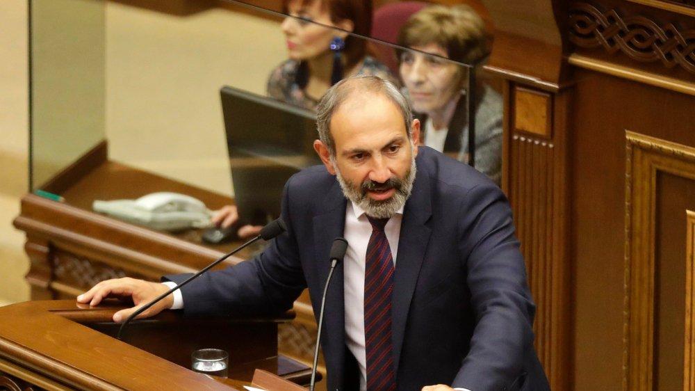 Seul candidat en lice, l'opposant Nikol Pachinian a accusé le Parti républicain de vouloir «faire dérailler» son élection.