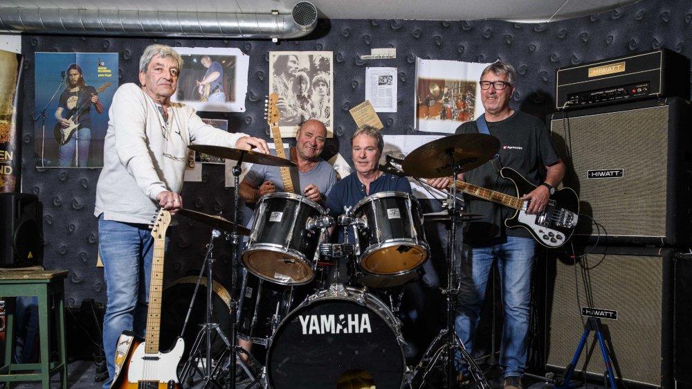Le groupe de rock s'est formé dans les années 1970. Cinquante ans après, ils continuent de faire trembler les scènes de la région.
