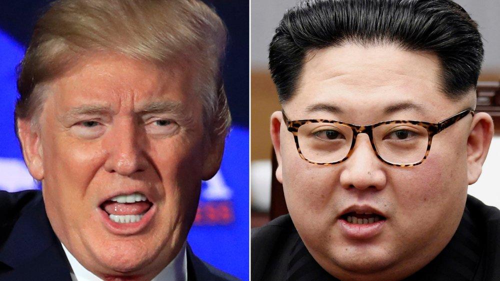 Donald Trump (à gauche) et Kim Jong-un se rencontreront pour un sommet Etats-Unis-Corée du Nord le 12 juin prochain, à Singapour.