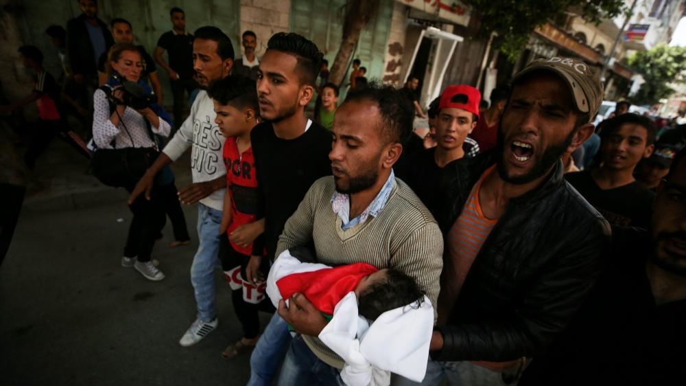Les heurts près de la frontière avec Israël ont fait 60 morts, lundi, dont huit âgés de moins de 16 ans.