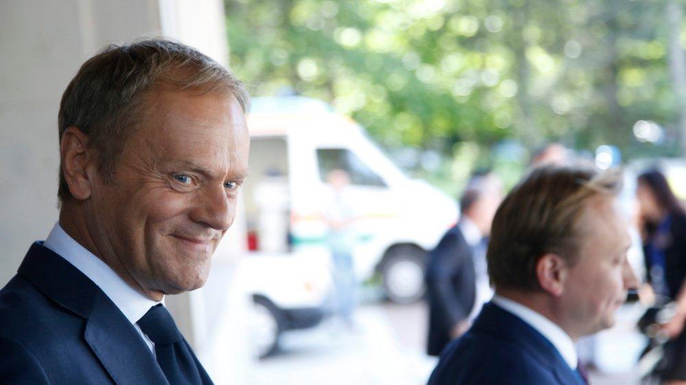 Le président du Conseil européen, Donald Tusk, s'est exprimé hier  en marge d'une réunion des 28 dirigeants de l'UE à Sofia.
