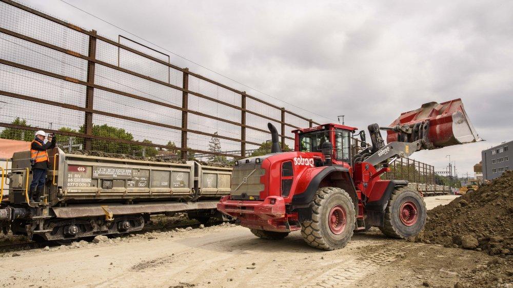 A Morges, les tracteurs s'activent depuis le mois de mars.