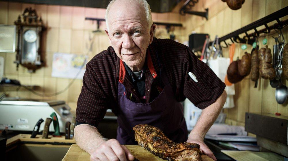 Philippe Grange a repris la boucherie de Begnins en 1990.