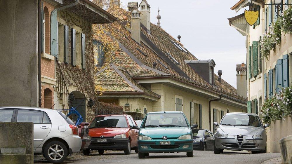Se parquer à Bougy-Villars ne fut pas toujours chose aisée.