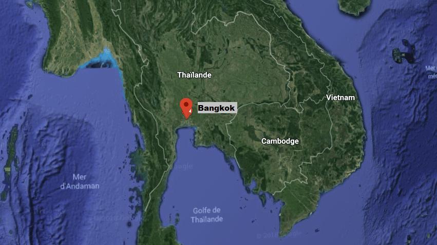 Le drame s'est déroulé à Bangkok, en Thaïlande.