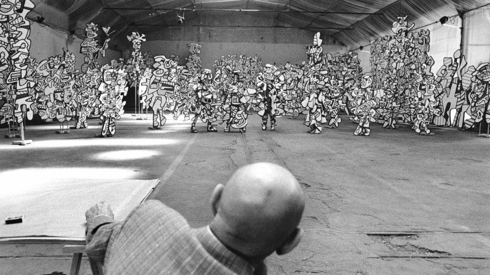 Jean Dubuffet est exposé au Musée de l'Elysée à Lausanne.